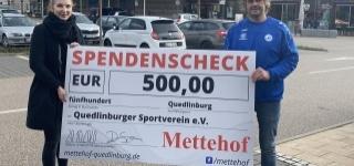 Dem großen Ziel ganz nah - großartige Spenden von Partnern und Unternehmen aus der Region - heute Übergabe des Förderbescheids vom Landkreis Harz